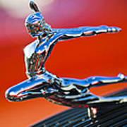 1935 Pontiac Sedan Hood Ornament 2 Art Print