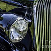 1936 Buick Vectoria Coupe Art Print