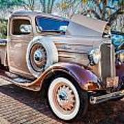 1936 Chevrolet Pick Up Truck Painted    Art Print