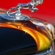 1936 Dodge Ram Hood Ornament 1 Art Print