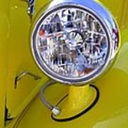 1936 Ford Pickup Headlamp Art Print