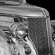 1936 Ford - Stainless Steel Body Art Print by Jill Reger