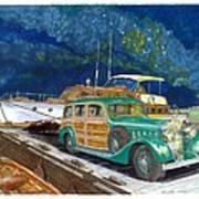 1936 Hispano Suiza Shooting Brake Art Print