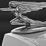 1936 Packard Hood Ornament 3 Art Print by Jill Reger