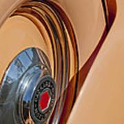 1936 Packard Spare Tire  Art Print