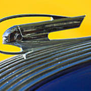 1936 Pontiac Hood Ornament 2 Art Print