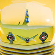 1937 Cord 812 Phaeton Grille Emblems Art Print