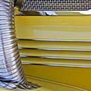 1937 Cord 812 Phaeton Hood Fender Art Print
