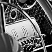 1937 Cord 812 Phaeton Steering Wheel Art Print