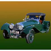 1937 Jaguar S S Onehundred  Art Print