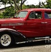 1938 Chevy 4 Door Sedan Art Print