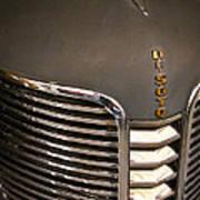 1938 Desoto 4 Door Sedan Art Print