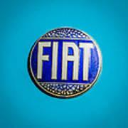 1938 Fiat 508c Berlinetta Speciale Emblem Art Print