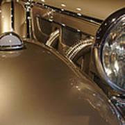 1938 Mercedes 540k Sport Tourer Art Print