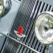1939 Aston Martin 15-98 Abbey Coachworks Swb Sports Grille Emblems Art Print