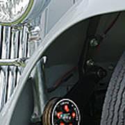 1939 Aston Martin 15-98 Abbey Coachworks Swb Sports Suspension Control Art Print
