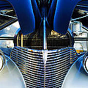 1939 Chevrolet Coupe Grille -115c Art Print