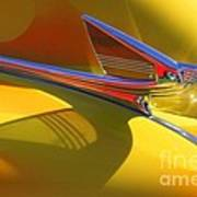 1939 Chevy Hood Ornament Art Print