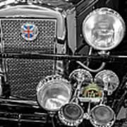 1939 Jaguar S100 Roadster Replica Art Print
