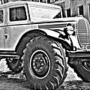 1939 Monster Truck Art Print