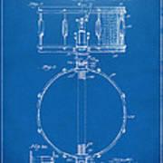 1939 Snare Drum Patent Blueprint Art Print