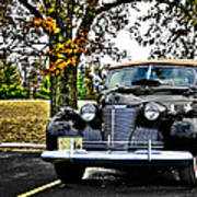 1940 Cadillac Coupe Art Print