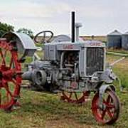 1940 Case Tractor Art Print