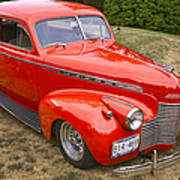1940 Chevrolet 2 Door Sedan Art Print