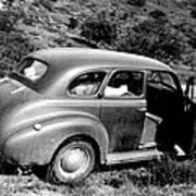 1940 Chevrolet Special Deluxe 4 Door Art Print