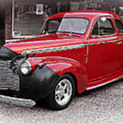 1940 Chevy Coupe Art Print