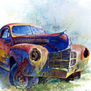 1940 Dodge Art Print by Andrew King