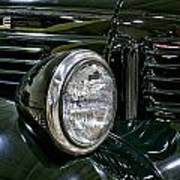 1940 Dodge Pickup Headlight Grill Art Print