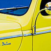 1940 Ford Deluxe Side Emblem Art Print