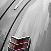 1940 Ford Taillight Art Print
