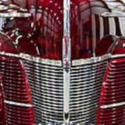 1940 Ford V8 Grill  Art Print