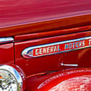 1940 Gmc Side Emblem Art Print