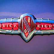 1941 Buick Eight Special Emblem Art Print
