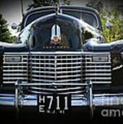1941 Cadillac Front End Art Print
