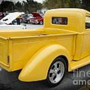 1941 Ford Pickup Truck Side View  Classic Automobile In Color 30 Art Print