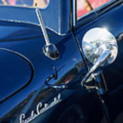 1941 Lincoln Continental Convertible Emblem Art Print