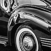 1941 Packard 110 Deluxe -1092bw Art Print