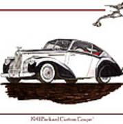 Packard Custom Coupe 120 Art Print