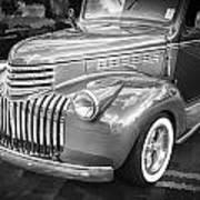 1946 Chevrolet Sedan Panel Delivery Truck Bw Art Print