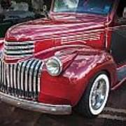 1946 Chevrolet Sedan Panel Delivery Truck  Art Print