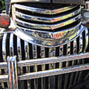 1946 Chevrolet Truck Chrome Grill Art Print
