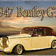 1947 Bentley Art Print