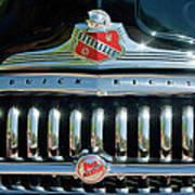 1947 Buick Sedanette Grille Art Print