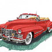 Cadillac Series 62 Convertible Art Print