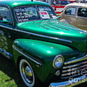 1947 Ford Super Deluxe Art Print