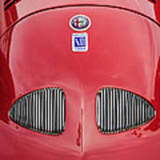 1948 Alfa Romeo Nardi Danese Convertible Art Print